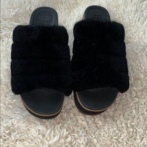 Ugg platform slipper